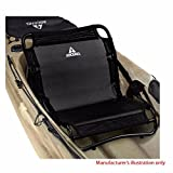"""Boat part number 8102505 is a new kayak seat from Ascend, part number 166295 , commonly used by Tracker Boats, part number 1896044 . This black clamp on kayak seat measures approximately 19 5/8"""" W x 18 7/8"""" L x 4 1/2"""" H overall, with the back rest me..."""
