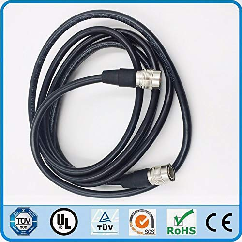 Davitu Hirose 12 Pin Male to 12pin Female Cable for Sony Camera CCXC-12P05N CCD Video Analog Industrial Camera Medical Mould monitor - (Color: 700cm) Ccd Color Industrial Video Camera