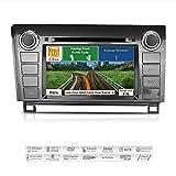 AIMTOM AMN-6016-MB 2007-2013 Toyota Tundra 2008-2014 Sequoia In-dash GPS Navigation Stereo FM AM Radio Bluetooth DVD CD Deck 7'' Touch Screen AV Receiver USB SD Multimedia Player w/ iGo Primo Maps