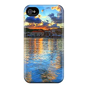 RachelMHudson Perfect Tpu Case For Iphone 4/4s/ Anti-scratch Protector Case (water Reflection)