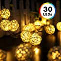 DecorNova 30 LED 19.7-Ft Battery Operated String Lights Set