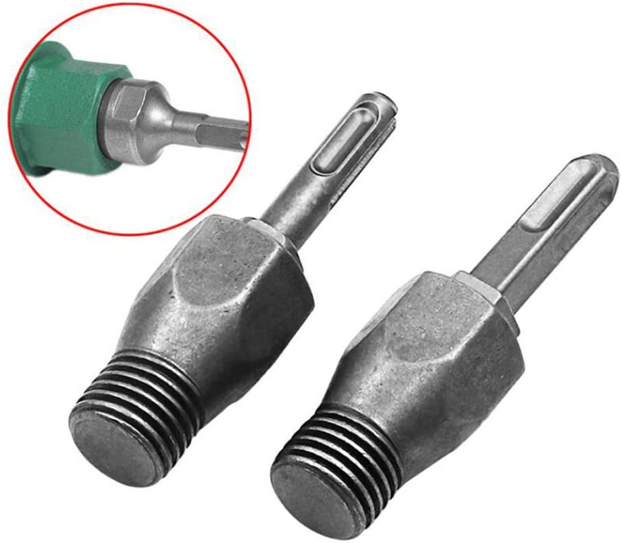 SDS Plus Arbor Adapter For Electric Hammer M22 Diamond Core Wet Drill Bit 22mm