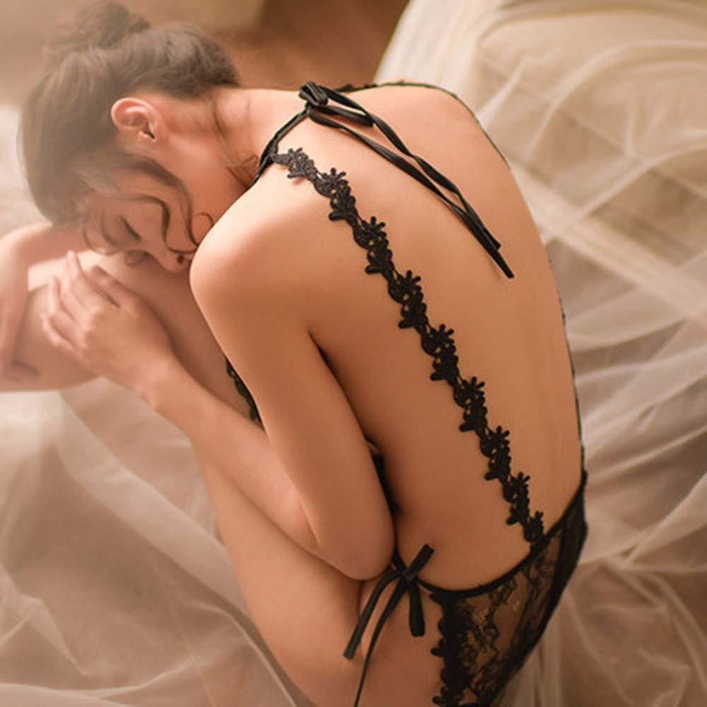 LQiuYQ Ropa Interior erótica, Correas Correas Correas de Las señoras de Encaje Sexy Perspectiva pasión de Tres Puntos de Gran tamaño cc6b71
