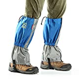 Ezyoutdoor Waterproof Snowproof Outdoor Hiking Walking Gaiters Climbing Hunting Snow Legging Leg Cover Wraps