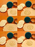 Marijuana Silicone Cookie Stamps, Stainless Steel
