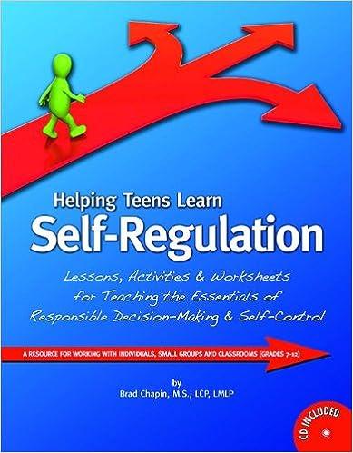 Helping Teens Learn Self-Regulation with CD: Brad Chapin, M.S. ...