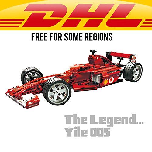 Lengend: Yile 005 F1 Racer 1:10 Building Blocks 8386 technic bricks 8386 action figure car toys for children Decools 3335