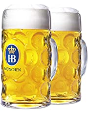 1 Liter HB Munchen Glass Mug