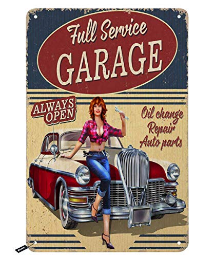tin garage signs - 7