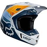 Fox Racing V2 Murc Men's Off-Road Motorcycle Helmet - Light Gray/Large