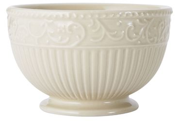 Italian Countryside Accents Scroll Beige Fruit Bowl online at Mikasa.com