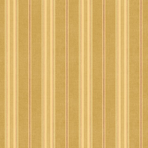 Waverly 5510728 Sunset Stripe Wallpaper, Tobacco Brown, 20.5-Inch Wide