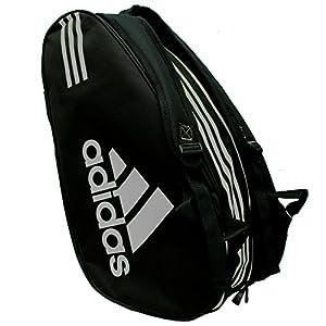 Adidas - Sacca per racchette Control, colore: nero / argento 9 spesavip