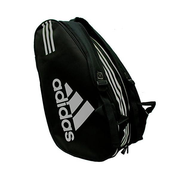 Adidas - Sacca per racchette Control, colore: nero / argento 1 spesavip