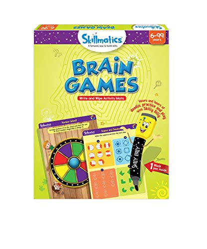 Skillmatics Educational Game: Brain Games (6-99 Years) | Fun Learning Games and Activities for Kids (Educational Board Games For 6 Year Olds)