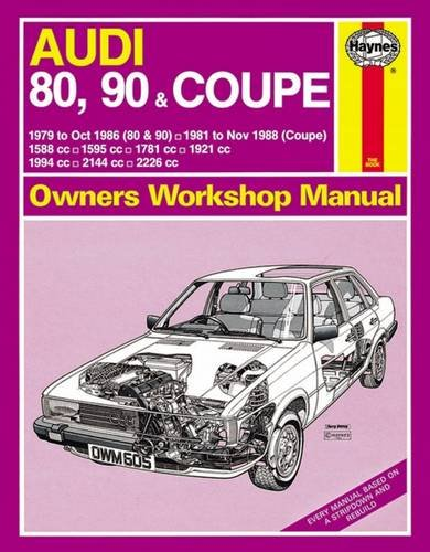 Audi 80 90 and Coupe Owners Workshop Manual (Owners Workshop Manual (Haynes Publishing Group)) (Service & Repair Manuals)