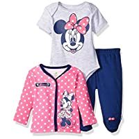 Disney Baby Girls' Minnie Mouse Jacket, Bright Pink, 6/9