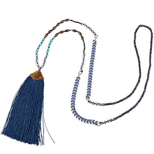 KELITCH Syuthetic Turquoise Necklace Layering product image