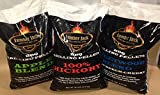 Lumber Jack BBQ 60 Pounds Pellet Assortment (Pick 3 x 20 Pound Bags) See Description for Flavors