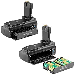 Neewer Professional Battery Grip(Replacement for BG-E2N) for Canon EOS 20D/30D/40D/50D D-SLR