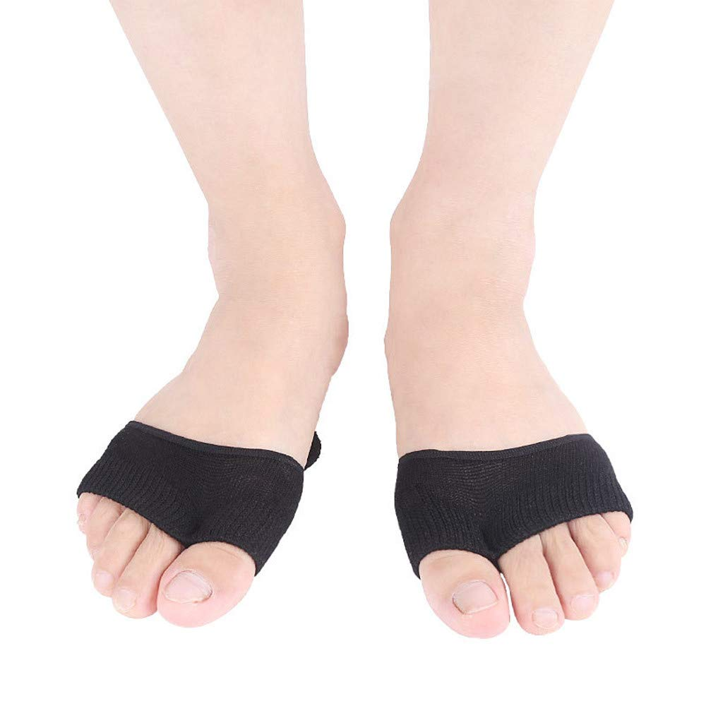 USHOT Sweat-Absorbent Cotton Thin Section Two-Toe Non-Slip Thumb Aligner Lady With Pad by USHOT (Image #3)