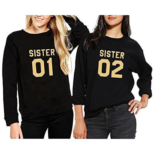 Zimaes-Women Hood Pullover Velvet Long-Sleeve Letter Printed Sweatshirts
