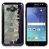 - Happy Quote Slogan Sign Road Positive - Slim Guard Armor Phone Case- For Samsung Galaxy J2 Devil Case