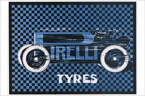 Photographic Print Of Advert/pirelli Tyres