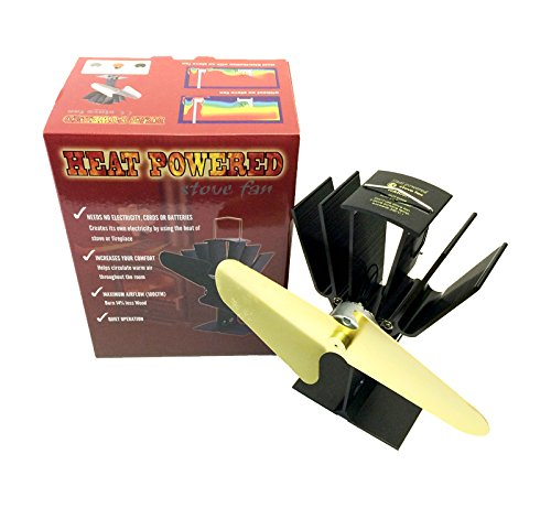 Eco Friendly Heat Powered Wood Stove Fan Same As Caframo