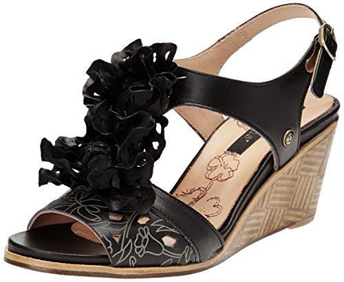 Noir de Negro de Neosens Noah cuero 229 Ebony Zapatos mujer Vestir qqzXHW