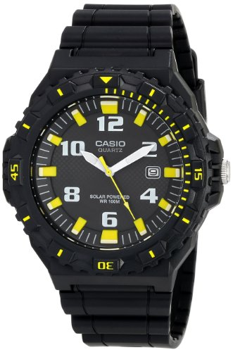 Casio MRW S300H 1B3VCF Tough Solar Black