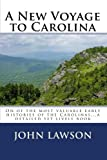 img - for A New Voyage to Carolina book / textbook / text book