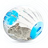 Mice Hamster Gerbil Toys - Elevin(TM)Toy for Small Animals - Plastic Pet Exercise Ball Animals Mice Hamster Gerbil Safe Jogging Play Cage Treadmill (Blue)