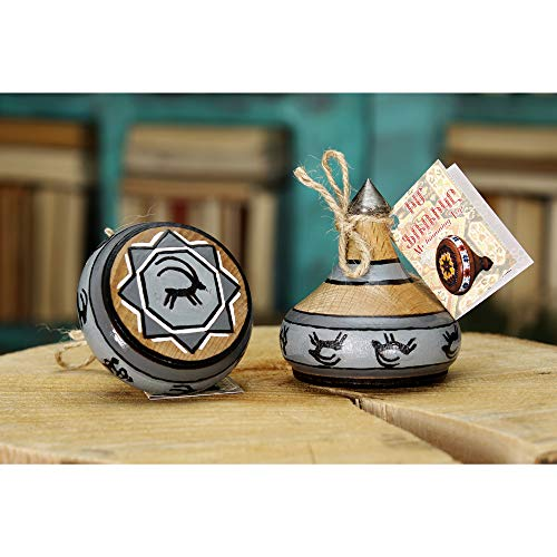 My Spinning Top Wooden Spintop Spinner Armenian Handmade Vintage Toy Gift for Kids HOL հոլ im frik Gyumri -
