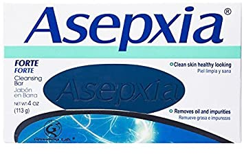 Asepxia Forte Acne & Blemish Control Antiacnil Fp Soap Bar 113g New Sealed