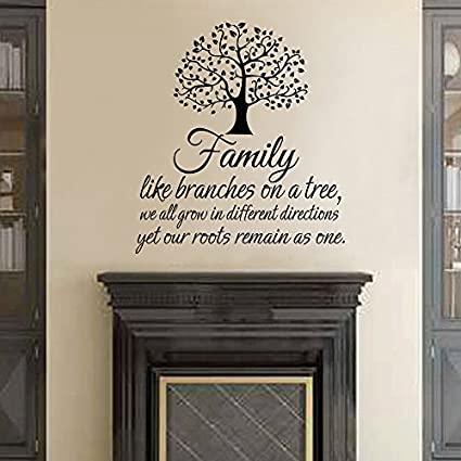 com wall decal decor family wall decal quotes family