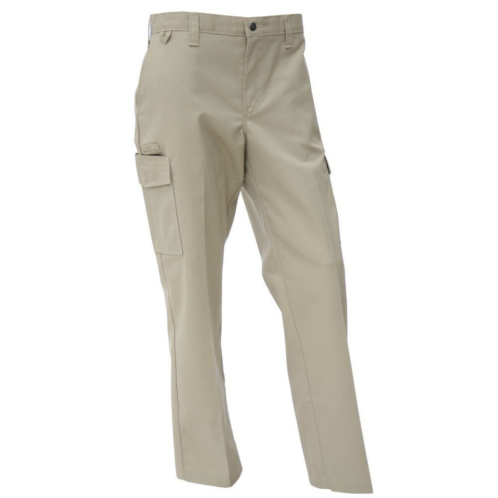"Dickies Tan Poly Cotton Men's Ultimate Server Cargo Pants - 38""L x 32"" Inseam"