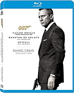Daniel Craig 007 Collection (Casino Royale / Quantum of Solace / Skyfall) [Blu-ray]