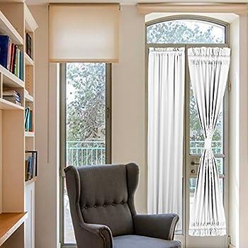Amazon Com Elegance Blackout Sidelight Panel Curtains 25w