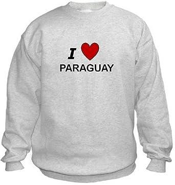 Amazon.com: I LOVE PARAGUAY - Country series - Light Grey ...