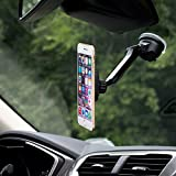 Dashboard-Mount-WizGear-Universal-Magnetic-Car-Mount-Holder-Windshield-Mount-and-Dashboard-Mount-Holder-for-Cell-Phones-ANT-TABLETS-With-Long-Adjustable-Arm-NEW-RECTANGLE-HEAD