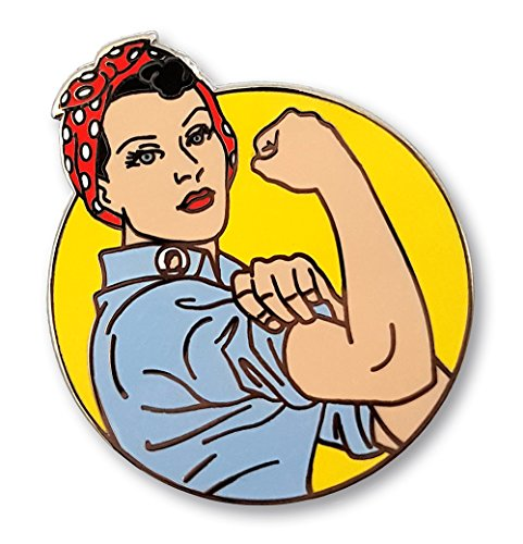 Pinsanity Rosie the Riveter Enamel Pin