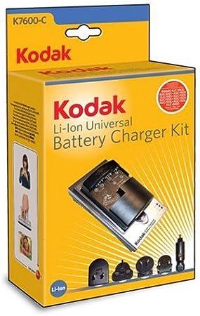 estación de carga para Kodak EasyShare KLIC Cámara de batería cargador 8000