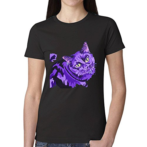 eddie-black-cat-pet-pop-portrait-women-tees-black