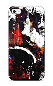 Durable Defender Case For Iphone 5c Tpu Cover(sad Obama)