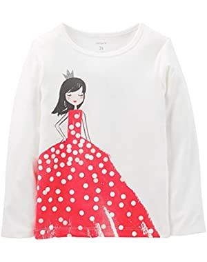 Baby Girls' Graphic Tee (Baby) - Ivory