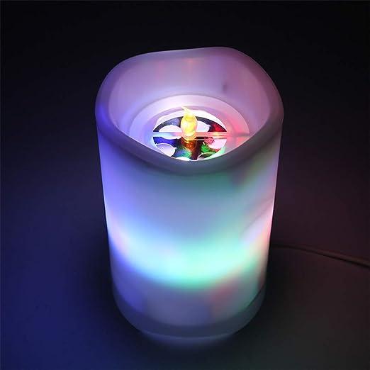 FENGT Lámpara De Proyector USB Vela Estrella/Lámpara De Proyector ...