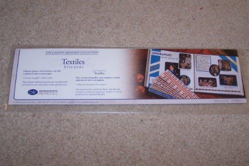 Creative Textile (Creative Memories: Textiles Stickers)