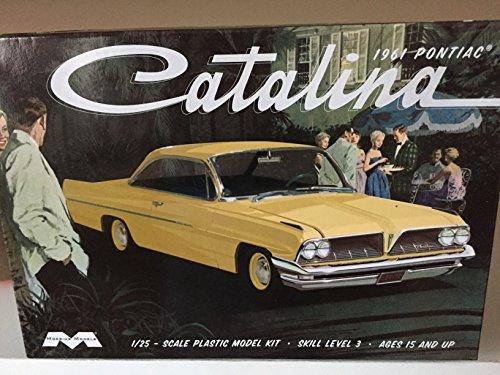 Pontiac Catalina - Moebius 1217 1961 Pontiac Catalina Model Car Kit