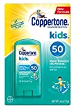 Coppertone Kids Sunscreen Stick Broad Spectrum SPF 50, .46 Ounces each (6)